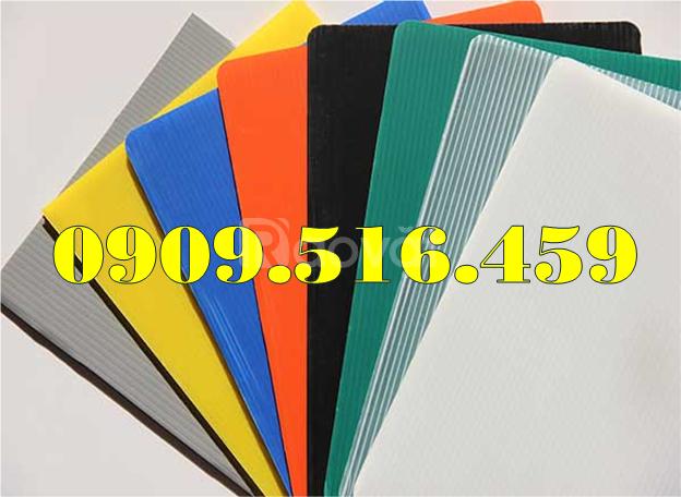 Tấm nhựa pp 2mm, 3mm, 4mm, 5mm danpla (ảnh 6)