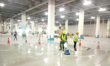 Dịch vụ vệ sinh công nghiệp nhà máy, văn phòng tại KCN Phổ Yên