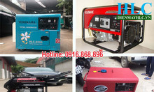 Mua máy phát điện chạy xăng, máy phát điện chạy dầu đúng công suất