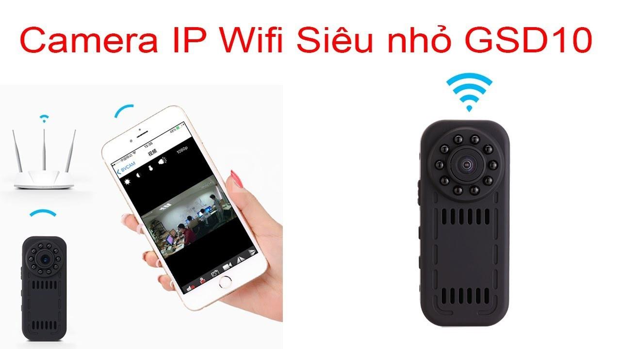 Camera quay lén kết nối điện thoại