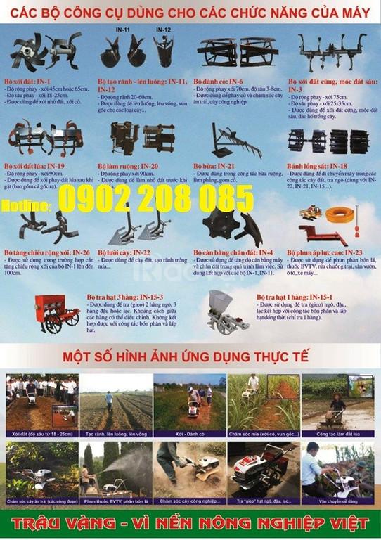 Bán máy xới đất vun luống cho mía và cây ăn quả giá rẻ