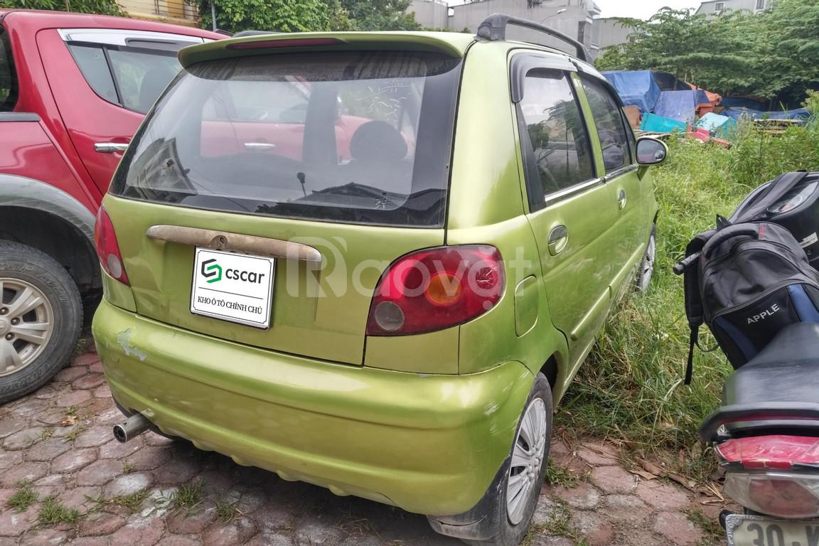 Cscar bán xe Daewoo Matiz SE 2007