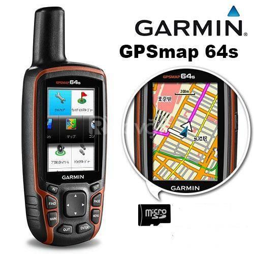 Máy do diện tích đất rừng Gps Garmin Map 64s cầm tay