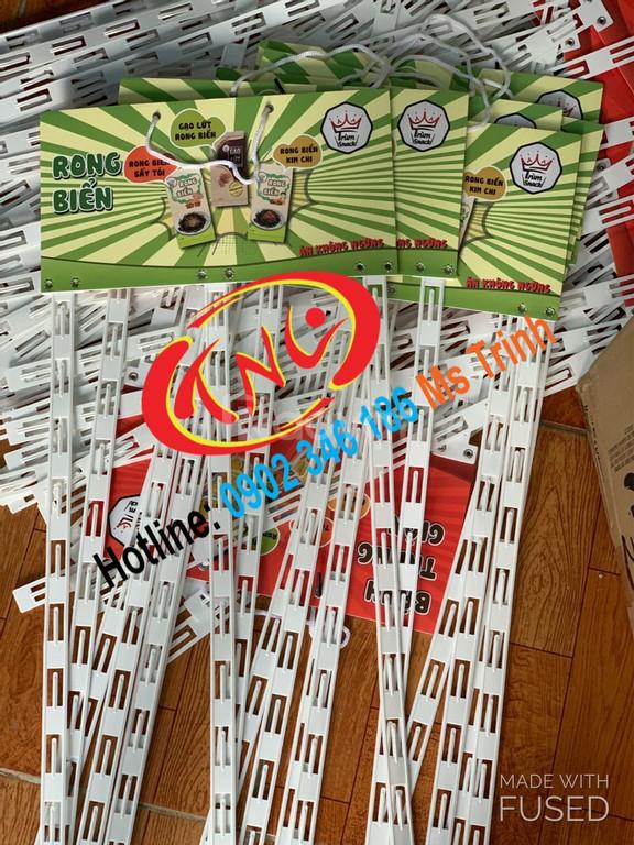 Hanger quảng cáo, hanger sắt, hanger dây nhựa, hanger túi nhựa giá rẻ (ảnh 7)