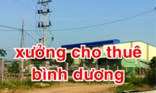 Cho thuê nhà xưởng Bình Dương tại Tân Uyên 2500m2, giá 90 triệu/tháng