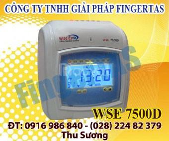Lắp máy chấm công thẻ giấy wse 7500a/d giao hàng nhanh giá rẻ  (ảnh 4)