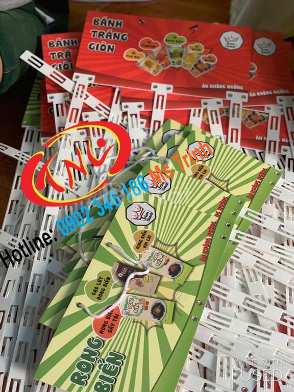 Hanger quảng cáo, hanger sắt, hanger dây nhựa, hanger túi nhựa giá rẻ (ảnh 4)