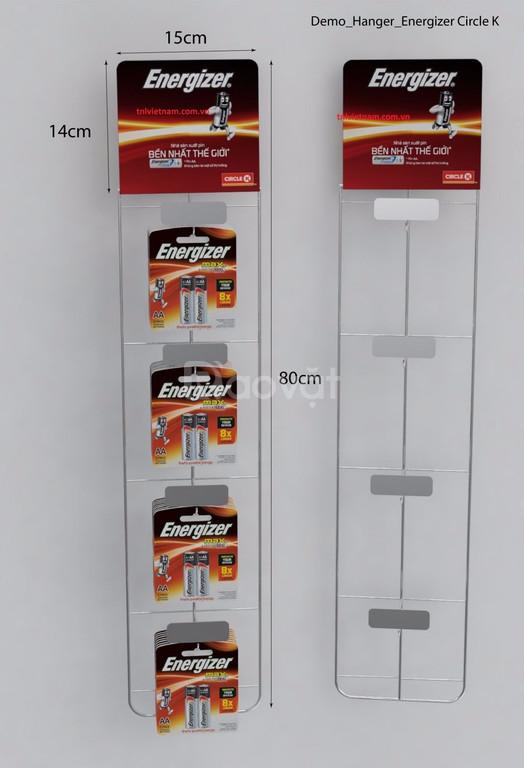 Hanger quảng cáo, hanger sắt, hanger dây nhựa, hanger túi nhựa giá rẻ (ảnh 1)