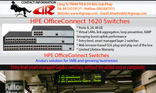 HPE OfficeConnect 1620 Switch
