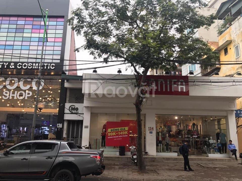 Cho thuê nhà mặt phố 71 Thái Hà DT 100m, 5 tầng