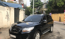 Chính chủ bán xe Hyundai Santa FE 2012 nhập khẩu, màu đen, biển Hà Nội