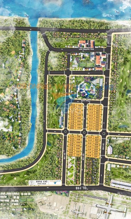 Sky Park - Chỉ 750 triệu sở hữu đất nền sổ đỏ ngay sân bay quốc tế