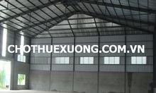 Cho thuê kho xưởng tại Bình Giang Hải Dương DT 5002m2