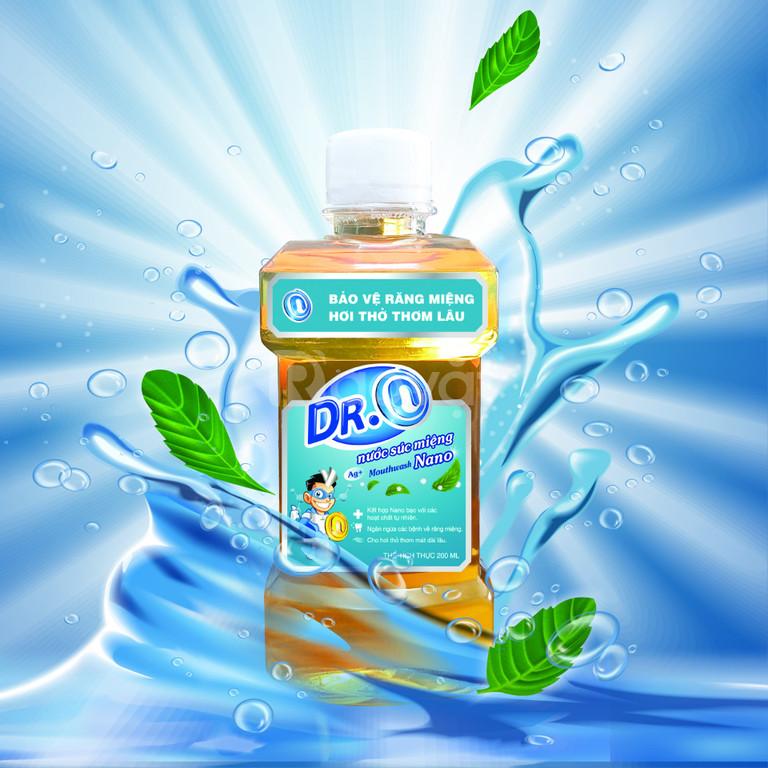 Nước súc miệng nano dr.n