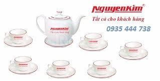 Sản xuất- báo giá doanh nghiệp in logo bộ ấm trà quà tặng 2019
