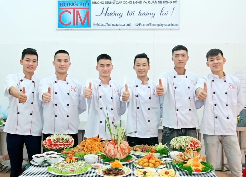 Trung cấp Nấu ăn học ở đâu có Giới thiệu việc làm