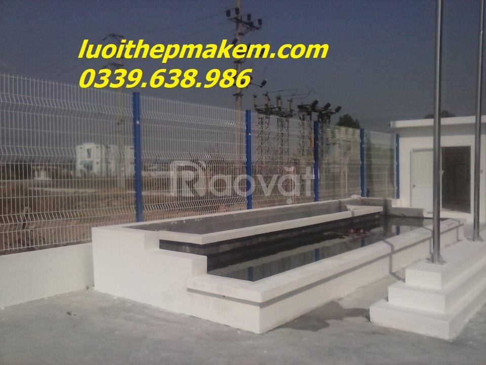 Hàng rào sơn tĩnh điện, lưới hàn sơn tĩnh điện