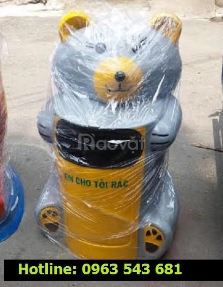 Thùng rác công cộng hình thú, thùng rác chim cánh cụt