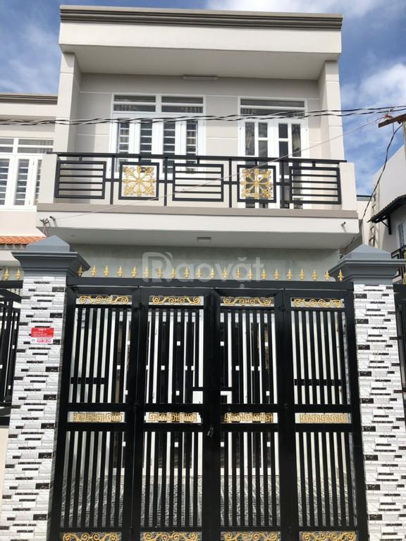 Nhà mới xây 1 trệt 1 lầu diện 70m2 giá rẻ, chợ Bình Chánh, sổ hồng