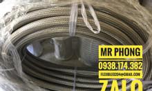 Ống mềm bọc lưới inox ống thủy lực inox ống cao su bọc lưới inox