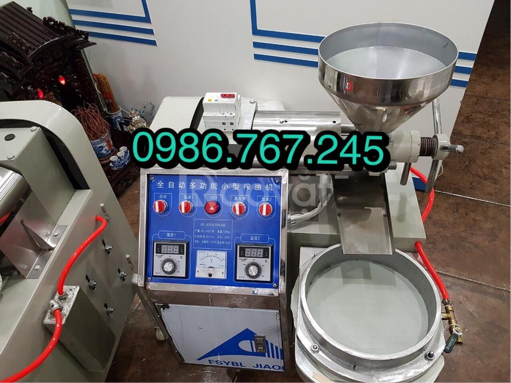 Máy ép dầu lạc công nghiệp 6yl-30 công suất 15kg/h giá rẻ
