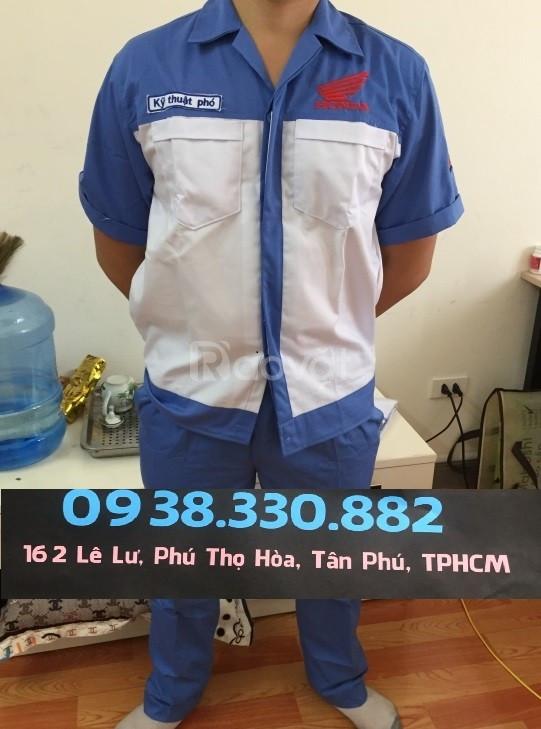 Bộ đồng phục kỹ thuật trưởng Honda