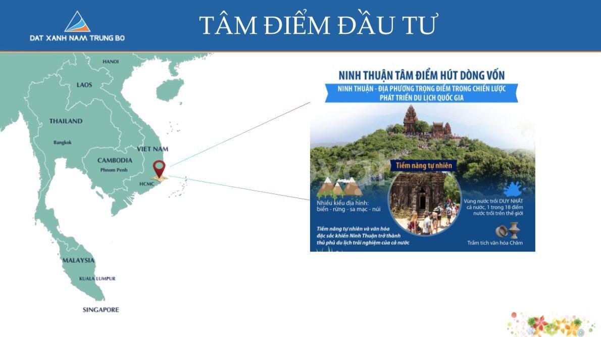 Bán đất nền dự án kdc ninh chữ Sea gate - Ninh Thuận