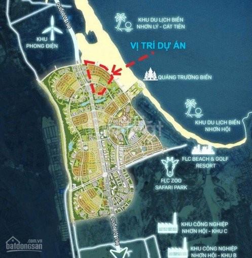 UT1 đất nền mặt tiền biển Quy Nhơn, sổ đỏ vĩnh viễn, sân bay Phù Cát.