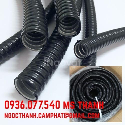 Cung cấp ống ruột gà lõi thép bọc nhựa PVC, Ống mềm luồn dây điện