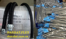 Ống ruột gà lõi thép luồn dây điện bọc nhựa pvc- ống luồn dây điện