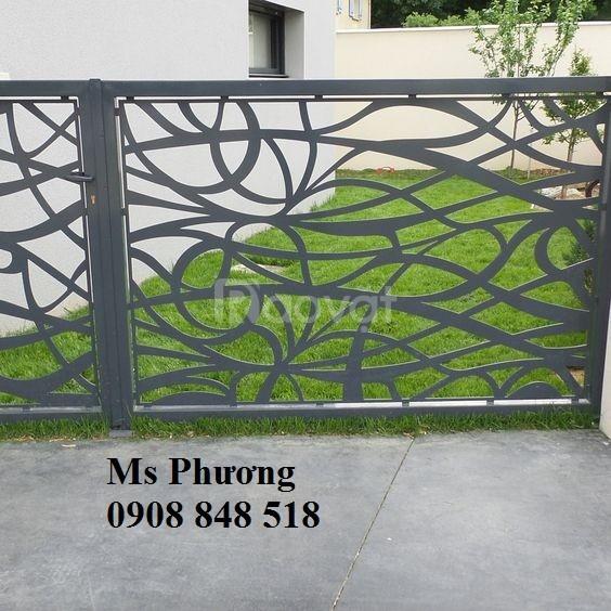Hàng rào sắt Nguyên Phong mang lại sự an toàn và đẳng cấp cho nhà ở