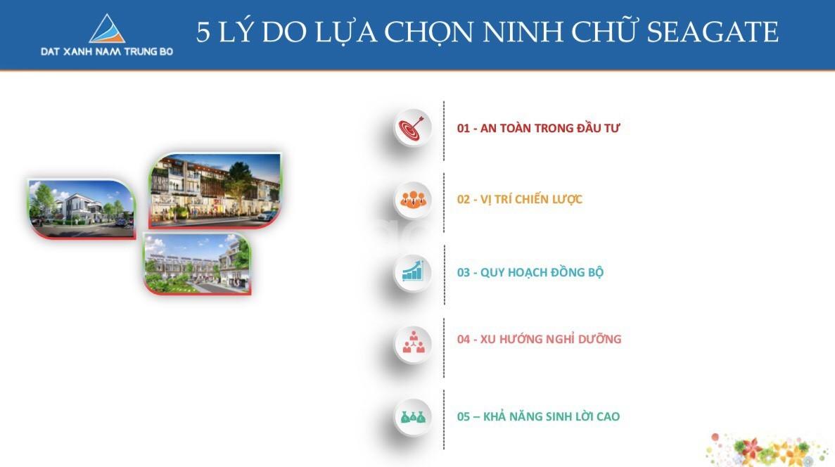 Tận hưởng vẻ đẹp của Biển tại nhà phố thương mại SeaGate Ninh Chữ.