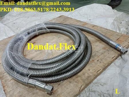 Khớp nối mềm - khớp chống rung sử dụng trong môi trường nhiệt độ cao