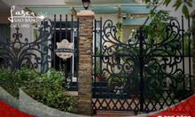 Hàng rào cổng sắt CNC đẹp tại Hồ Chí Minh