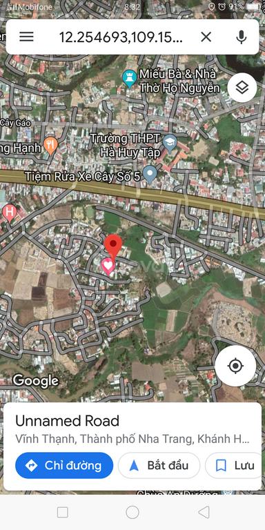 Bán đất Vĩnh Hiệp Nha Trang