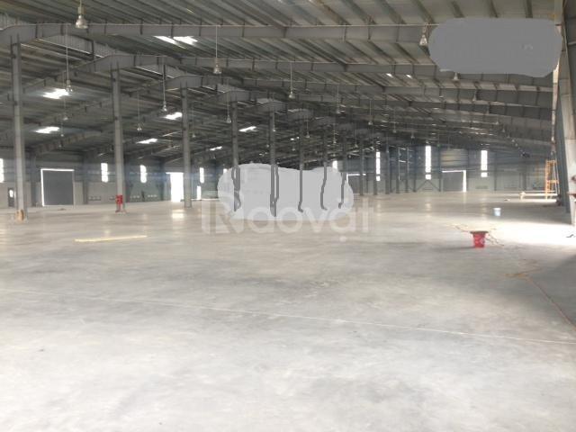Cho thuê kho xưởng DT 2400m2 KCN Vsip Từ Sơn Bắc Ninh.