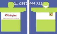 Sản xuất-cắt may-in ấn logo áo mưa quà tặng Quảng Nam