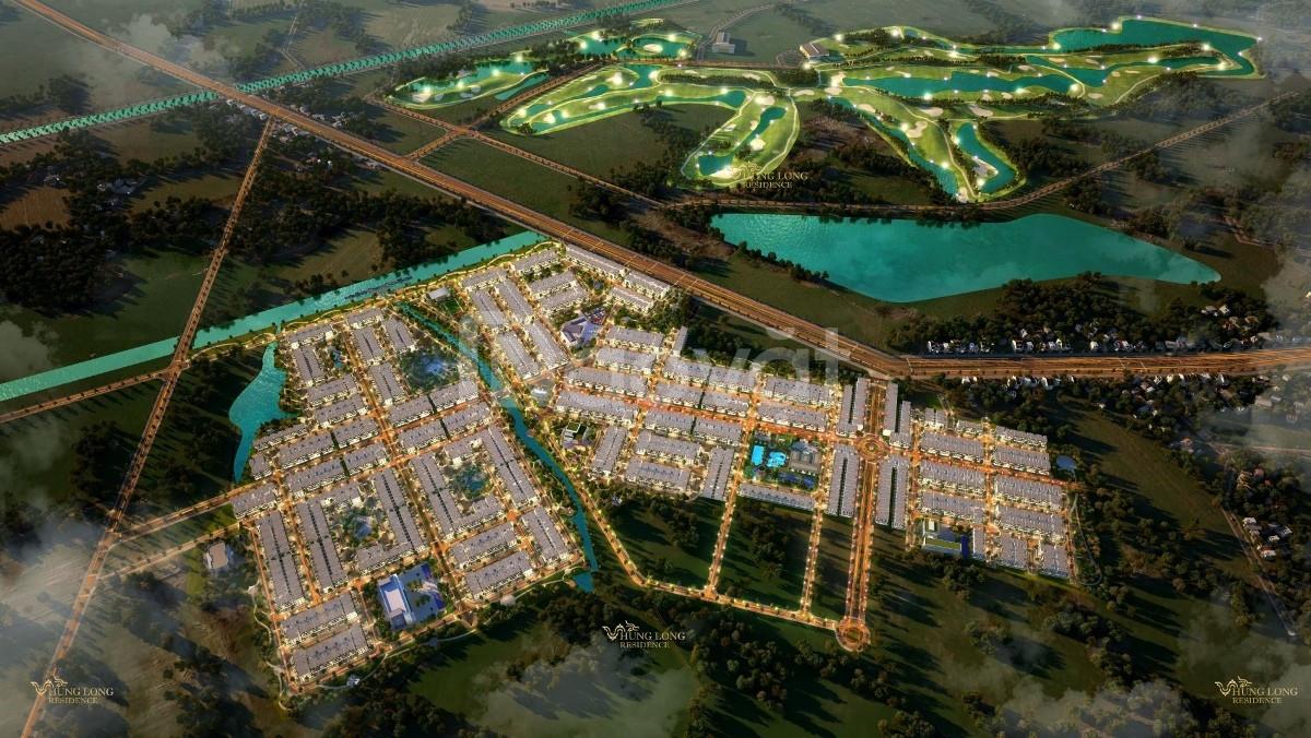 Đất thổ cư 100% đối diện sân golf West Lakes 120ha, bệnh viện Xuyên Á