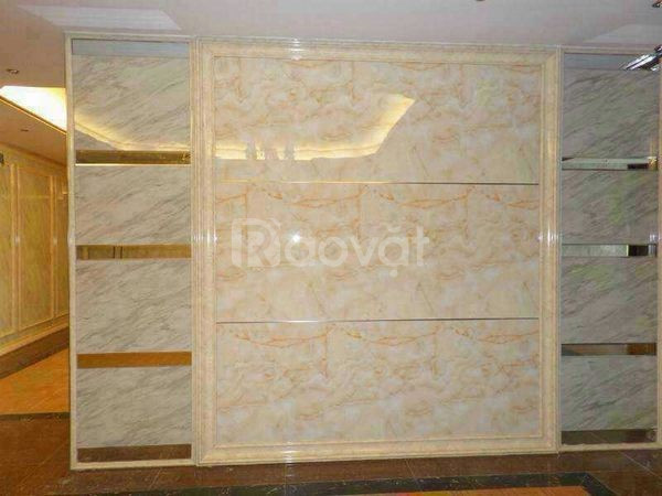 Tấm ốp giả đá pvc chống thấm tường, trang trí nội thất