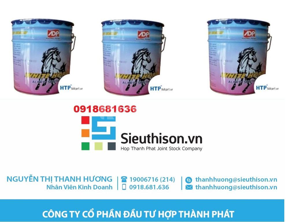Sơn dầu Alkyd Á Đông White Horse giá rẻ cho công trình tại TPHCM