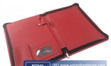 Cơ sở sản xuất bìa da kẹp tài liệu giá rẻ theo yêu cầu tại TPHCM