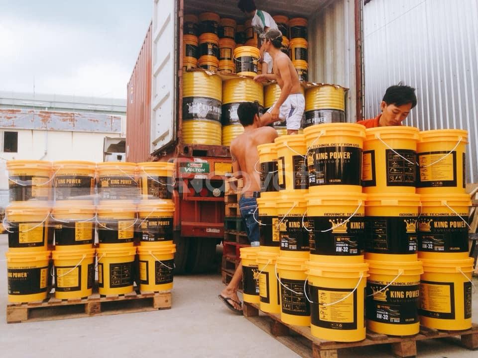 Dầu thủy lực 32,46,68 tại thành phố Hồ Chí Minh.
