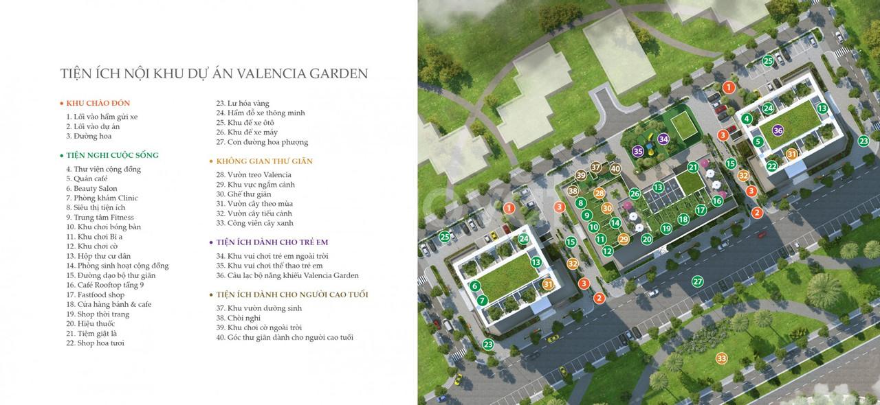 Căn ngoại giao dự án Valencia Garden Việt Hưng Long Biên giá 1,45 tỷ
