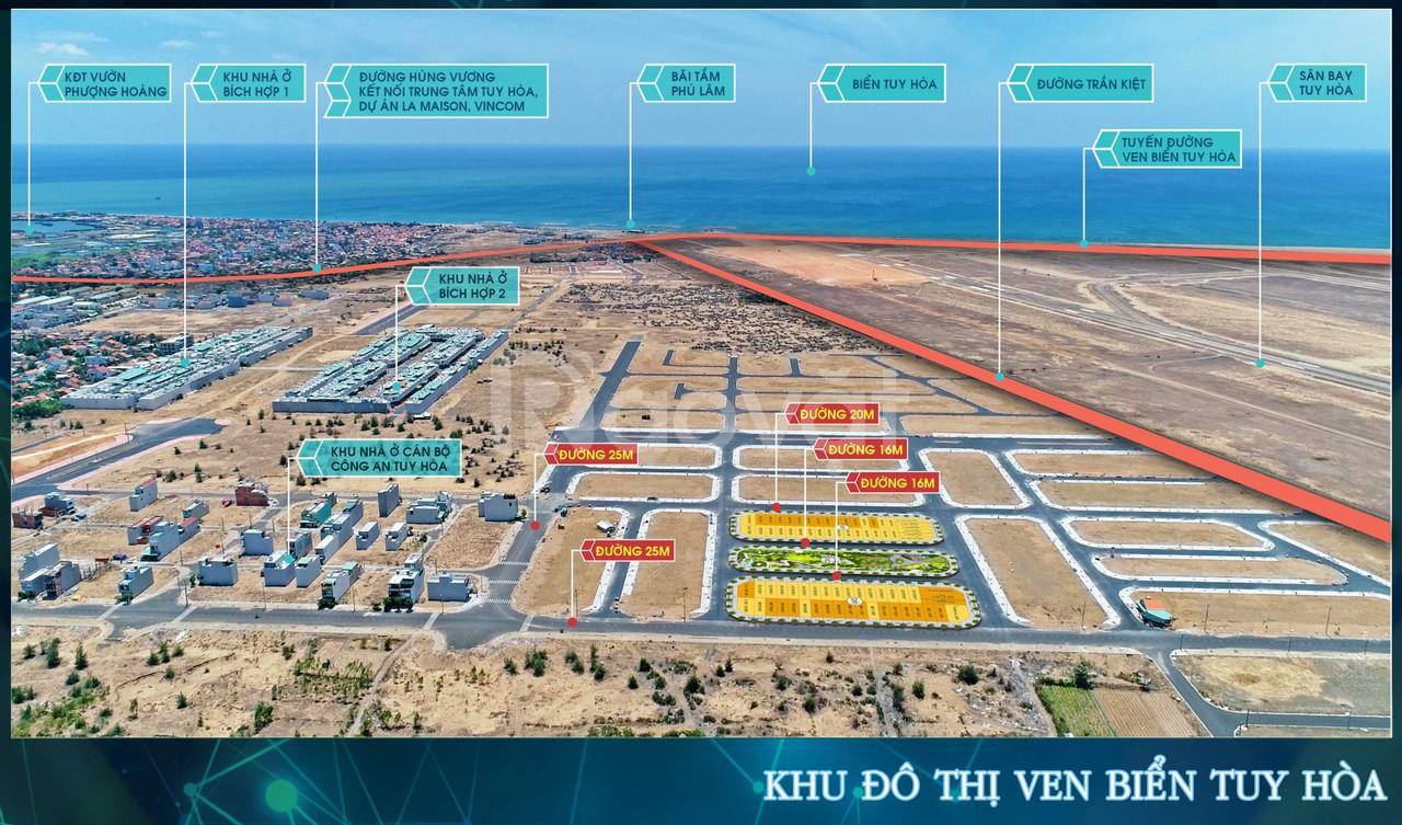 Đất nền ven biển La Maison Premium Tuy Hòa Phú Yên giá chỉ 1,6 tỷ