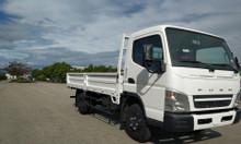 Xe tải thaco Mitsubishi fuso canter 4.99 tải trọng 2,1 tấn thùng lửng