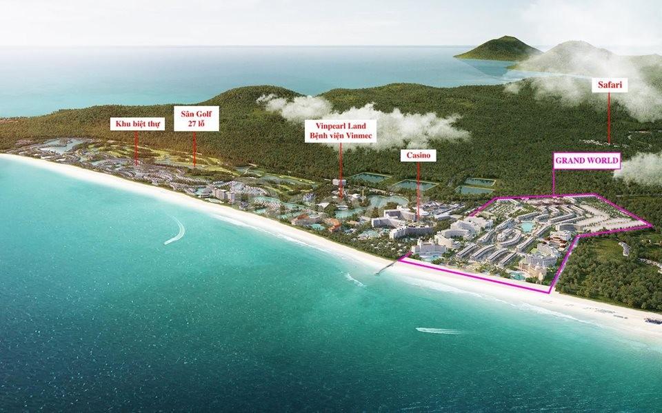 Vinpearl ra mắt shophouse Grand World Phú Quốc - Giá từ 3,7 tỷ