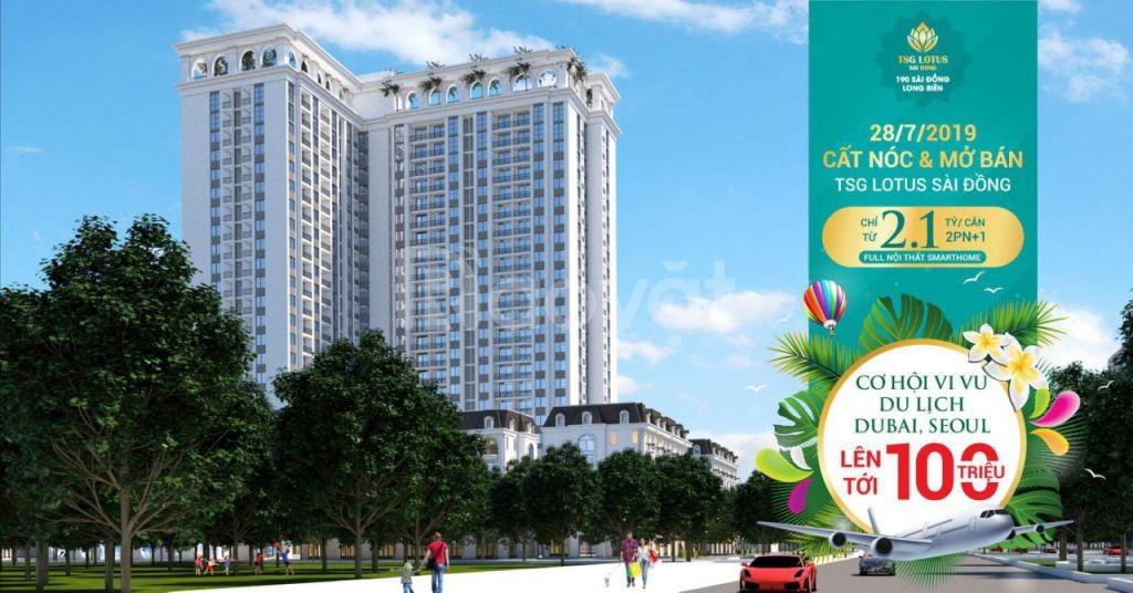 Căn hộ 4.0 cao cấp Sài Đồng Long Biên 101 m2 giá 2,8 tỷ