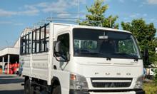 Xe tải thaco Mitsubishi fuso canter 6.5 tải trọng 3,4 tấn mui bạt