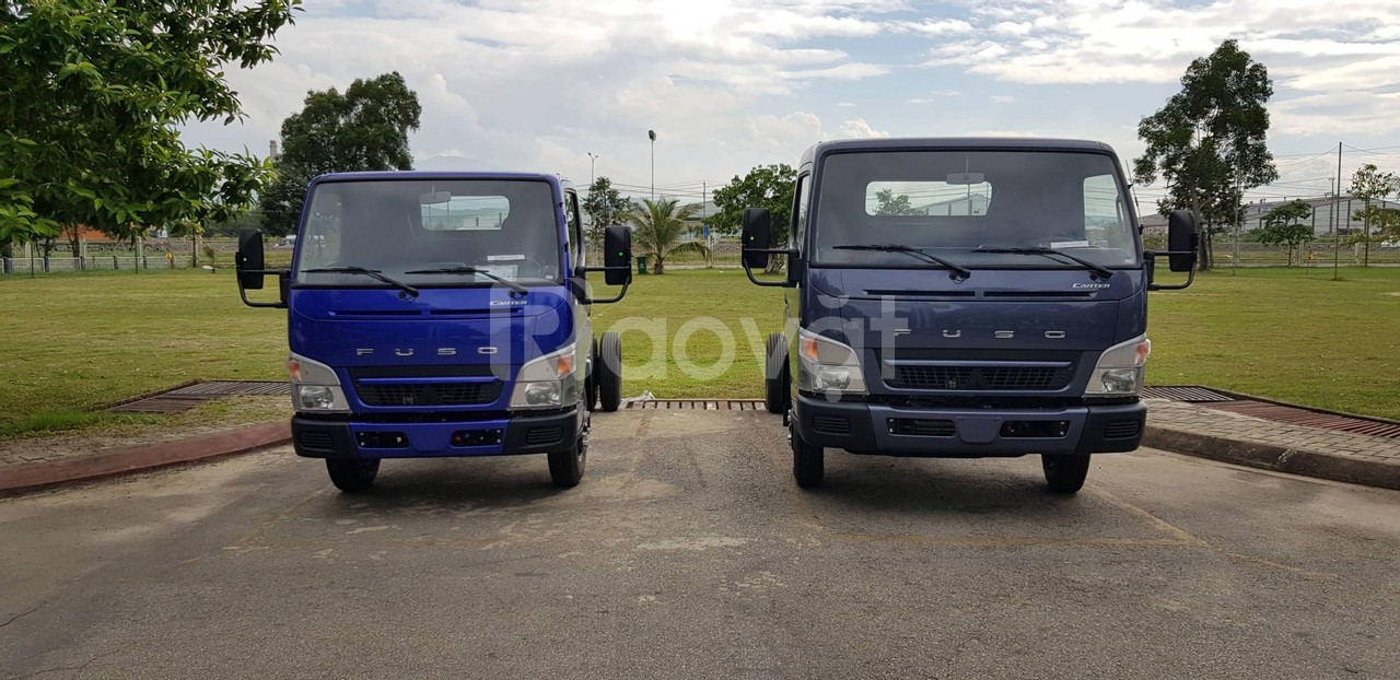 Bán xe tải Mitsubishi Fuso trả góp 80%