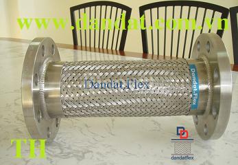 Chế tạo cáp đồng bện tiếp địa khớp nối mềm nối bích ống mềm inox.